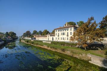 Cassinetta di Lugagnano (Milan, Italy): Villa Visconti Maineri