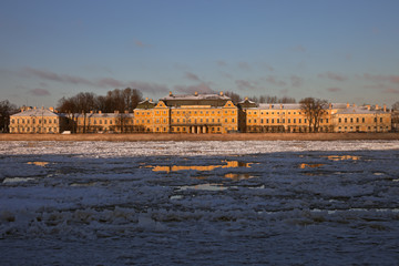 Palace of Prince Menshikov in St. Petersburg, Russia