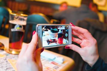 Fotografare  Una Birra con uno Smartphone