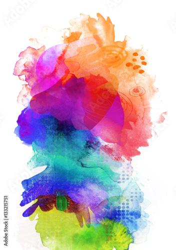 Farben Texturen Regenbogen Hochformat Stockfotos Und Lizenzfreie