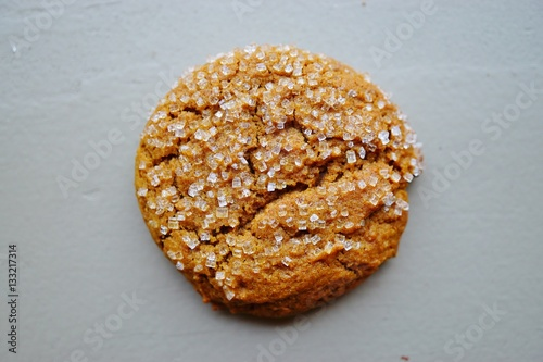 """""""Ginger snap cookies with sparkling crystallized sugar ..."""