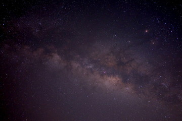 Milky way in the sky at night