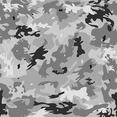 Camouflage on a gray background