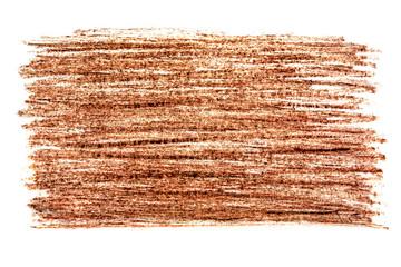 Brown color pencil design