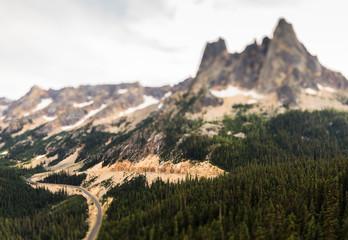 Cascade Mountain Range, United States of America