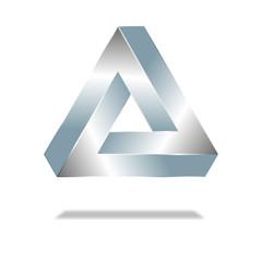 Penrose-Dreieck - Optische Täuschung1.1