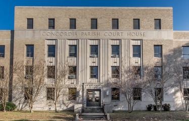 Concordia Parish courthouse in Vidalia, Louisiana