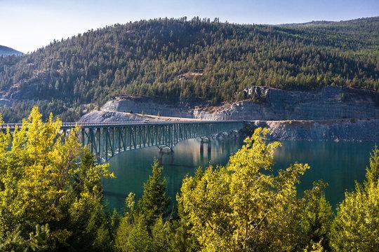Lake Koocanusa Bridge, Montana