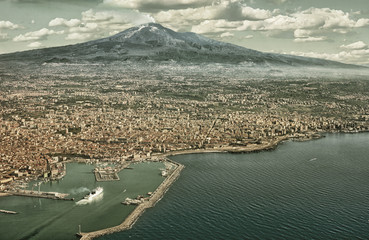 Catania aerial view (HDR)