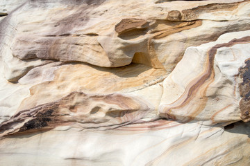 Close up of a sandstone textured background