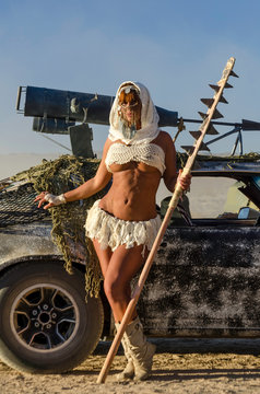 Sexy Post-Apocalyptic Woman