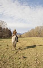 Aventura en caballo