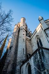 Dans les rues d'Avignon, la basilique Saint-Pierre d'Avignon