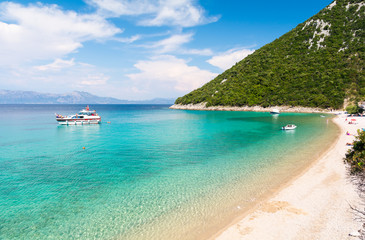 Paradise beach in Peljesac peninsula in Dalmatia, Croatia
