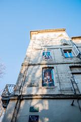 Dans les rues d'Avignon