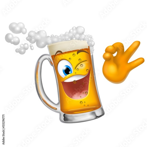 Boccale Di Birra Ok Stock Photo And Royalty Free Images On Fotolia