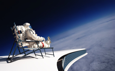 The astronaut Fototapete