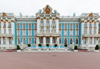 Catherine Palace in Saint Petersburg, Russia