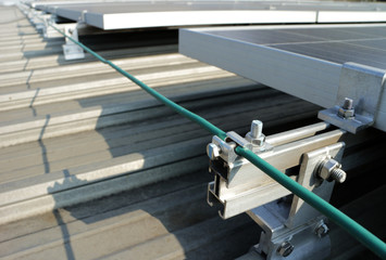 Solar PV Rooftop Grounding System