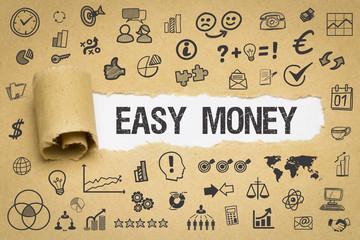 Easy Money / Papier mit Symbole