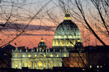 Roma Basilica di San Pietro Vaticano