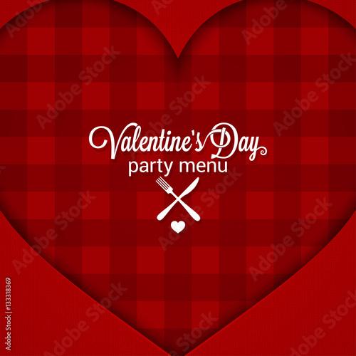 Valentines day dinner party menu background stock image for Valentines dinner party menu