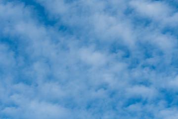 Wiispy Thin Clouds On Blue Sky