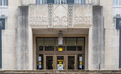 Warren County courthouse at Vicksburg, Mississippi