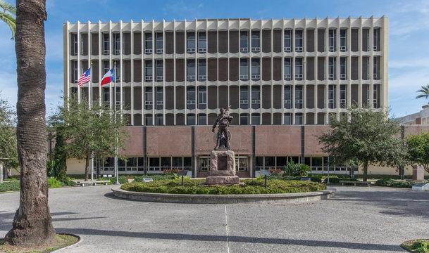 Galveston County courthouse at Galveston, Texas