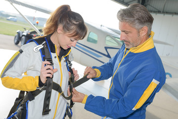 first time skydiving experience