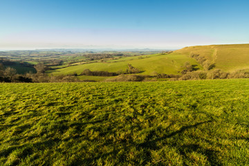 England Dorset country view