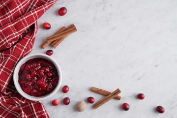 Cranberry Sauce Corner