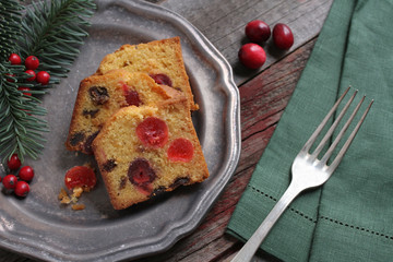 Holiday Fruit Cake
