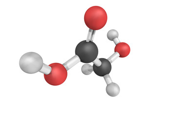 Glycolic acid, used in various skin-care products and found in s