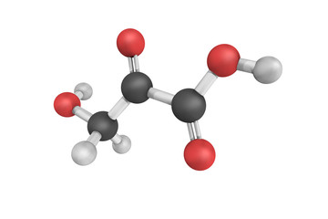 Hydroxypyruvic acid is a pyruvic acid derivative with the formul