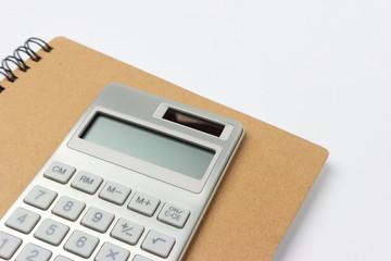 ノートと電卓