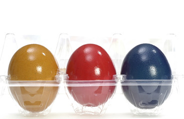 Eastereggs in packing, food industry