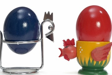 Easteregg in eggcup