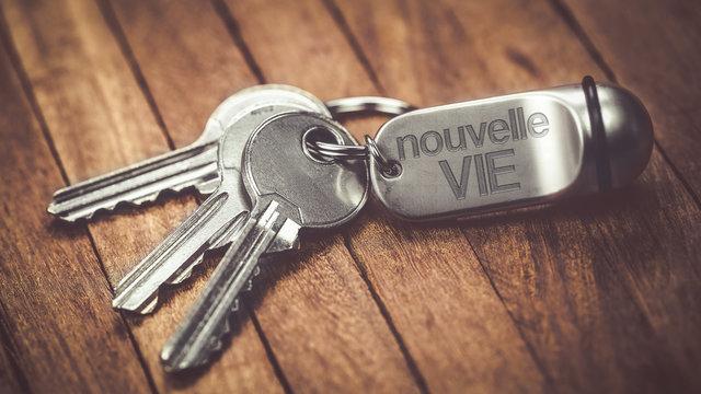 porte clés métal : nouvelle vie
