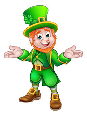 St Patricks Day Cartoon Leprechaun