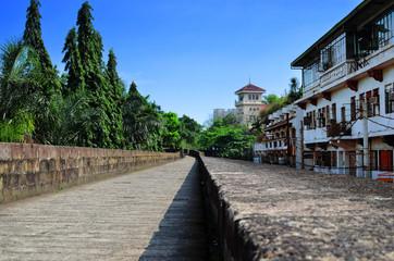 Manille et sa vieille ville fortifiée
