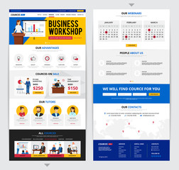 Web Page Business Training