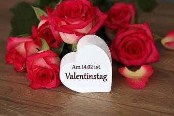 Am 14.02.ist Valentinstag