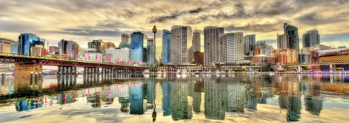 Papiers peints Sydney Skyline of Sydney at Cockle Bay - Australia