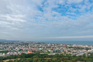 Cityscape of Hua Hin,Thailand