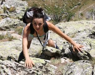 Marga In Arrampicata Sulla Rocca Provenzale 2012