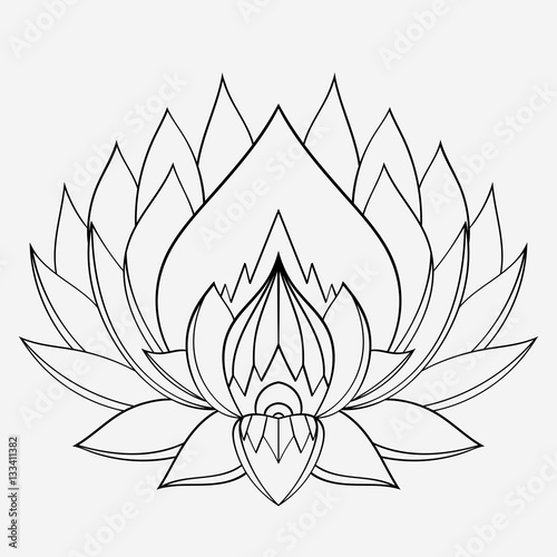 Painted In Mehndi Style Lotus Flower Manual Panache There Are