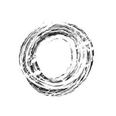 grunge vintage circle shape background and texture, design element
