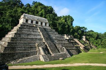 Mayan Ruins of Palenque.