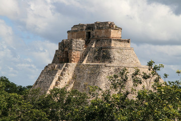 Mayan Ruins of Uxmal. Mexico